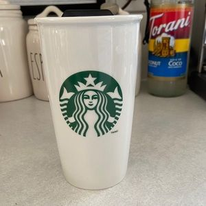 Starbucks 2011 Ceramic Tumbler